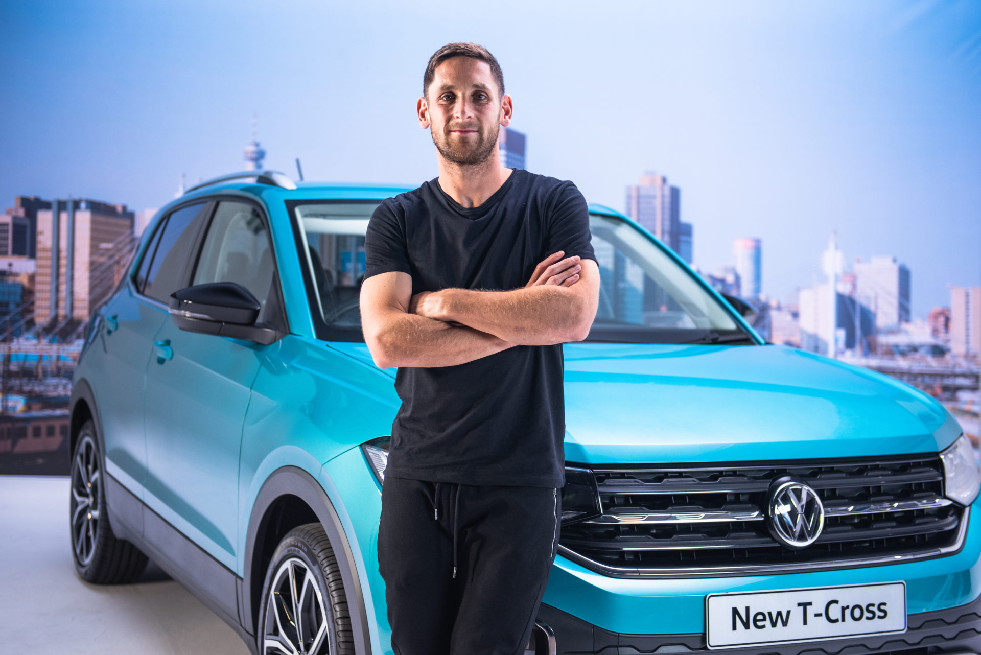 VW TCross in Johannesburg, South Africa, on August 8, 2019.